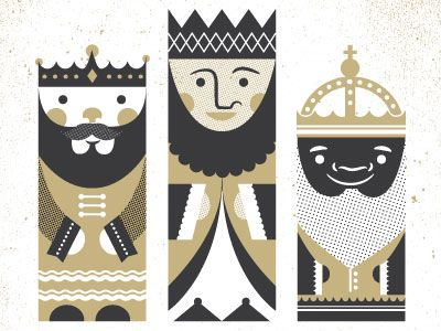 Three kings - Two Arms - Dribbble