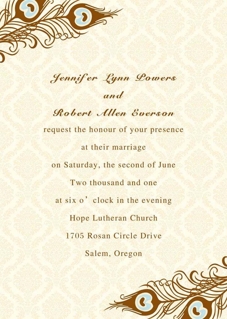 Invitation It's our immense pleasure to cordially invite