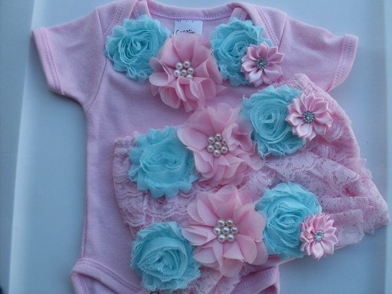 Newborn Take Home Outfit Baby Girl  Coming Home by SHELOVESGLITZ