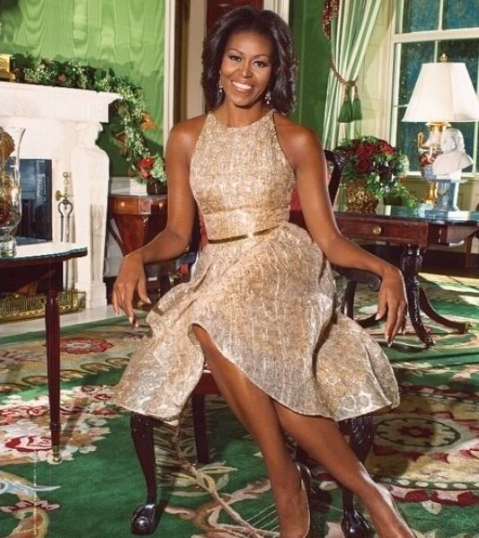 Michelle Lavaughn Robinson Obama Flotus Michelle Obama -4723