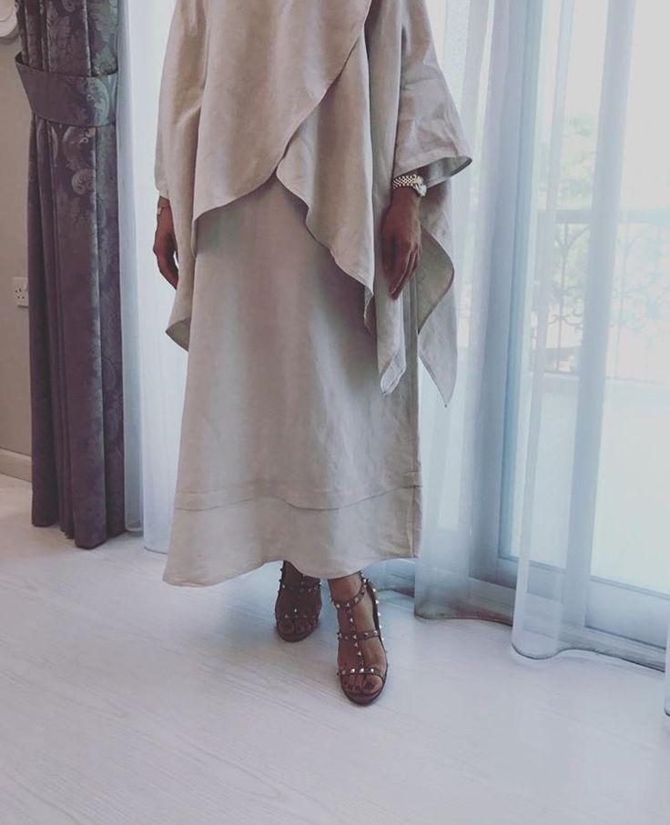 IG: Elham.Alarif || IG: BeautiifulinBlack || Abaya Fashion ||