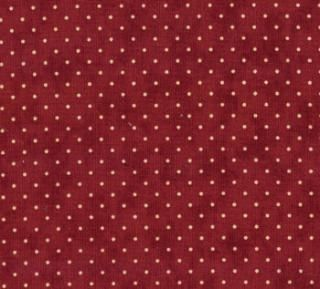 8654-29 - Essential Dots (Cranberry) // Juberry Fabrics