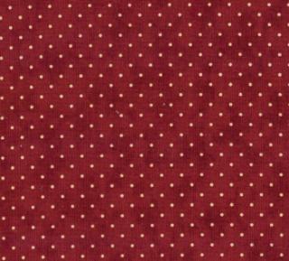 8654-29 - Essential Dots (Cranberry) // Juberry Fabrics