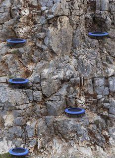 ROBERT RICKHOFF - Mountain trampoline