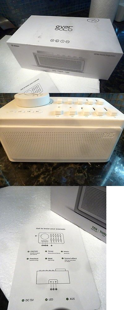 Sound Therapy: Zidoo White Noise Generator Sleep Therapy Bluetooth Ten Sound Effect Usa Seller -> BUY IT NOW ONLY: $70 on eBay!