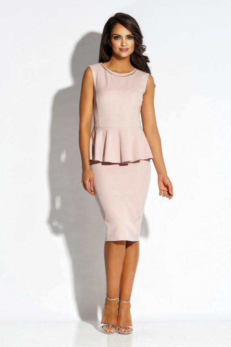 Spektakularna Sukienka Mila Różowa