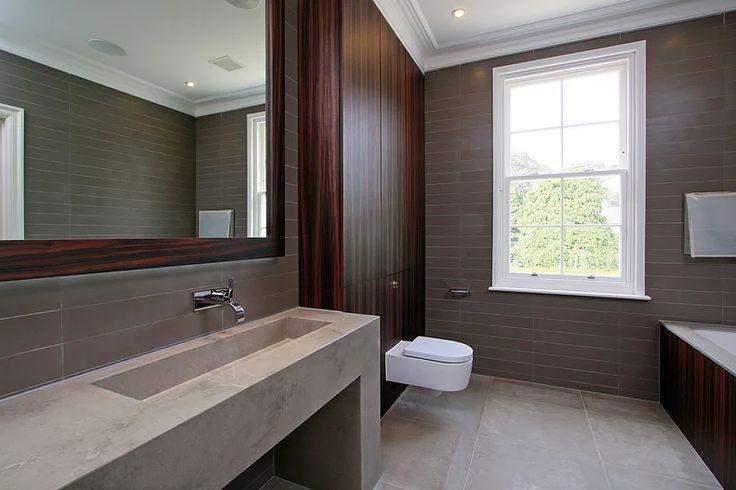 Macassar wood bathroom by Macassar Properties - London investment and development company