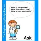 These are cute posters that can be used to display and teach the Engineering Design Process used during STEM activities and lessons. Ask, Imagine, ...
