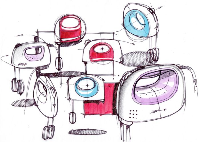 Sketch-A-Day Roundup: Week of February 8 | Industrial Design Sketching and Drawing Tutorials