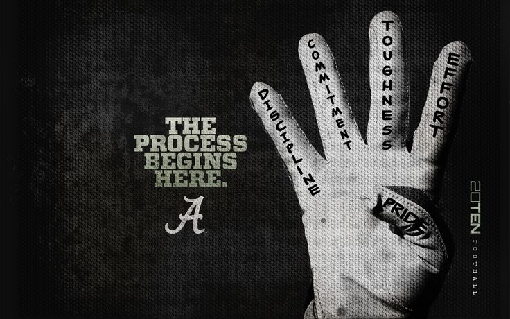 This is Alabama Football!
