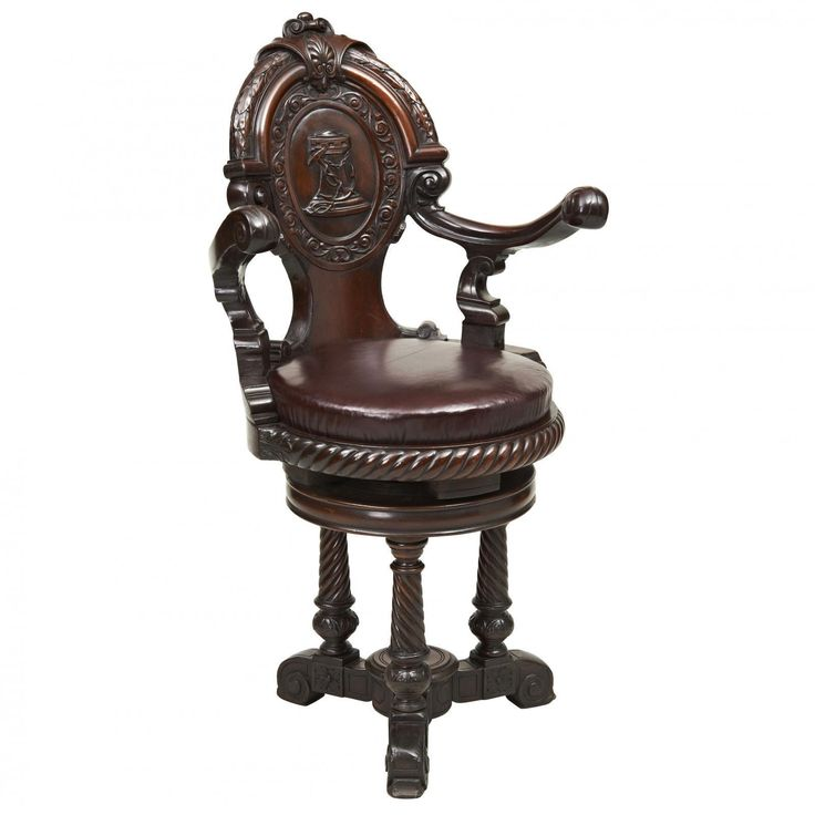 A late 19th century Mahogany Ship's Chair | Looking For Antiques - 68 Best Looking For Antiques Chairs Images On Pinterest Antique