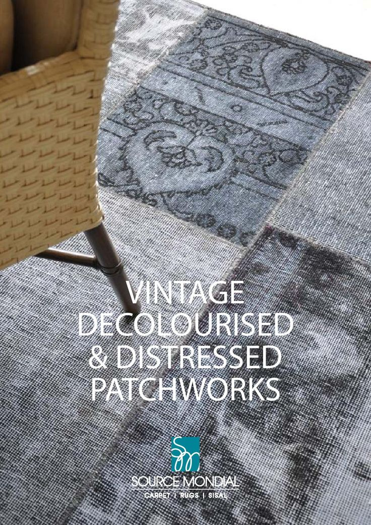 Vintage Decolourised & Distressed Patchworks