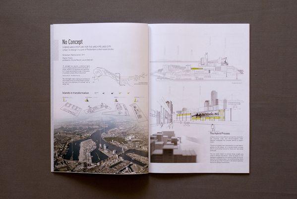 Architecture portfolio design on Behance