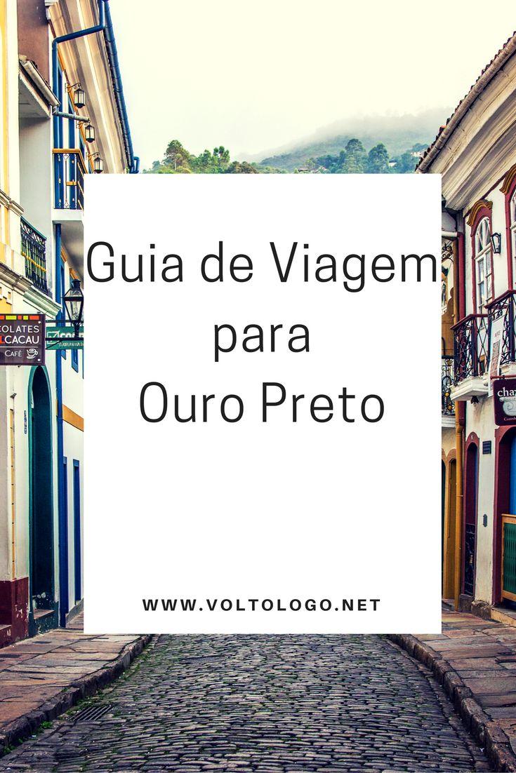 Guia de viagem de Ouro Preto