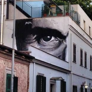 Pasolini street art
