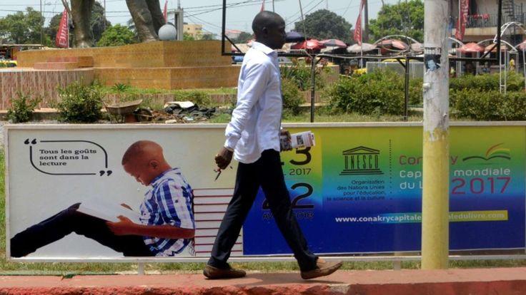 Ebola: Guinea city turns page on disease as World Book Capital