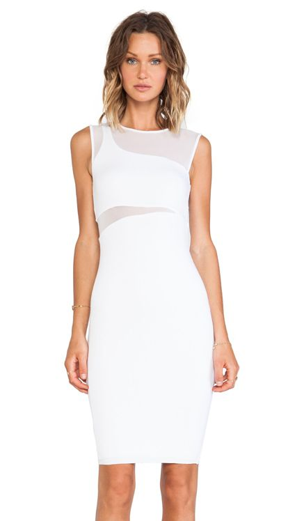 Bailey 44 Dada Dress in White