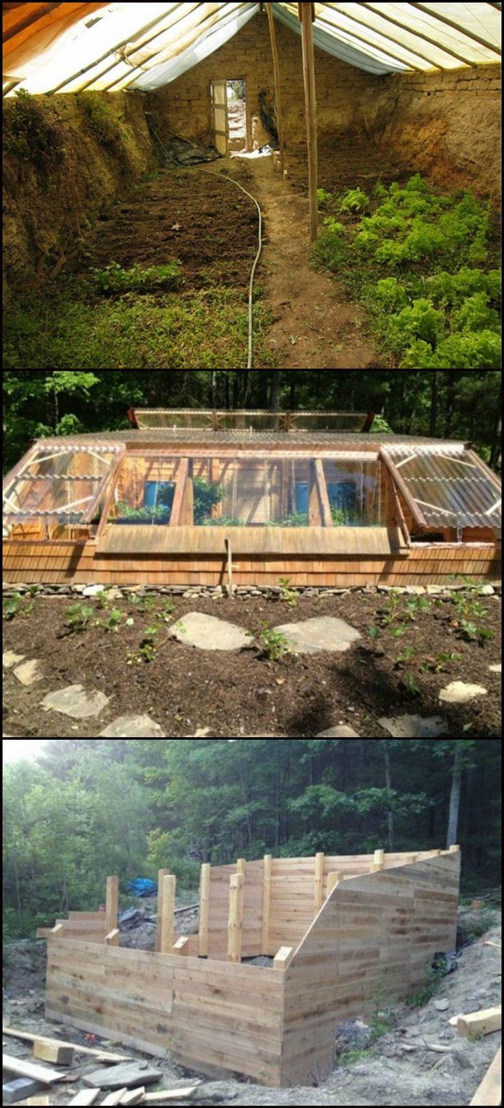 105 best walipini images on pinterest gardening greenhouse