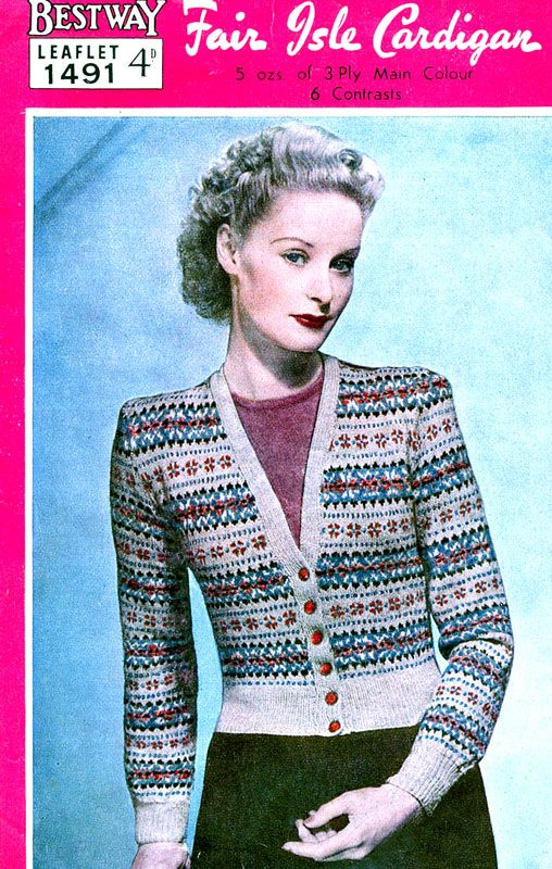 31 best Peggy Chester - 40s knitting pattern model images on ...