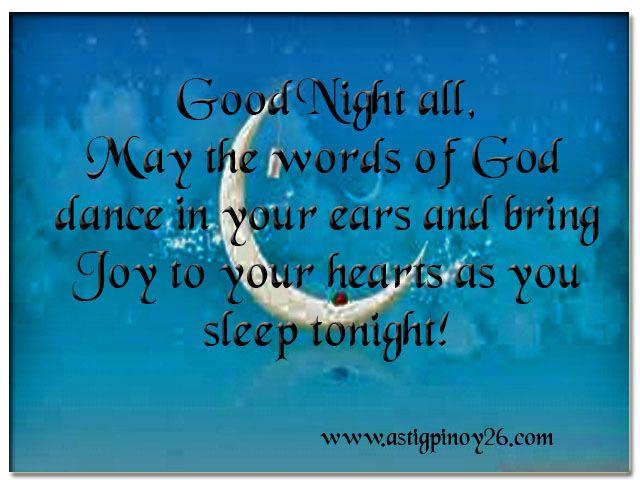 spiritual goodnight images   Good Night all,
