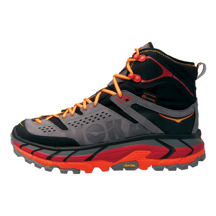 Trek the mountains to your hearts content in this innovative new shoe from Hoka, the Mens Hoka One One Tor Ultra Hi WP