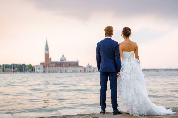 Ein After-Wedding-Shooting in Venedig. Foto: ROCKSTEIN fotografie