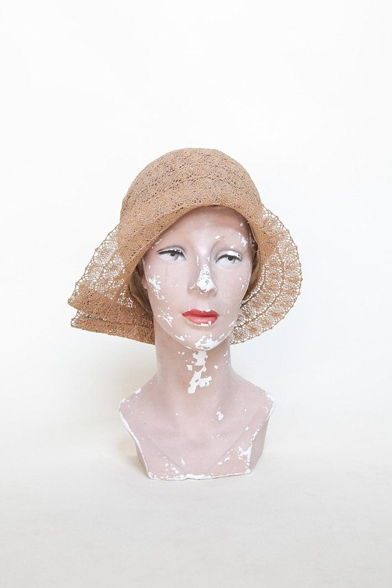 04eb1e5c5f5 RESERVED --- 1920s Straw Cloche --- Vintage Art Deco Hat in 2018 ...