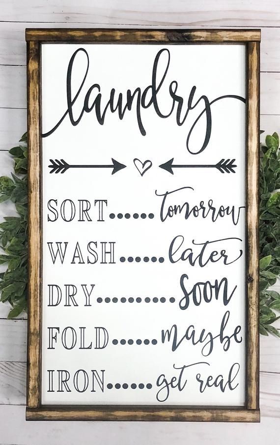 Wood signs | signs | signs with quotes | farmhouse sign | home decor | laundry signs | laundry | laundry signs | farmhouse decor