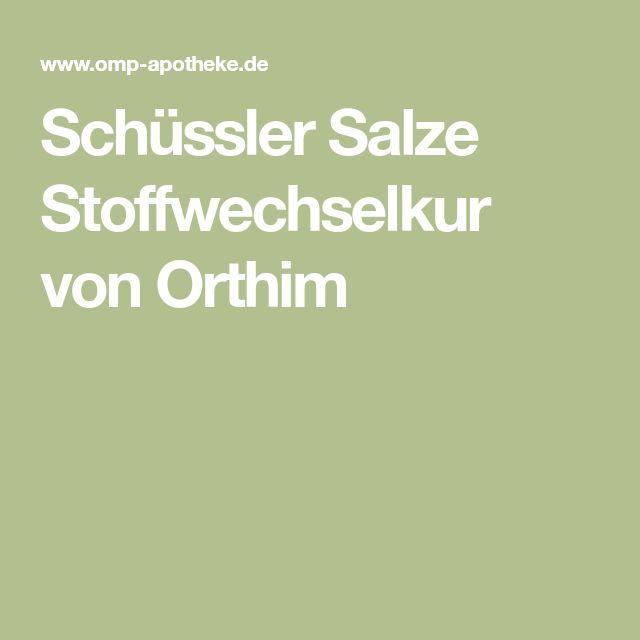 Schüssler Salze Stoffwechsel-Kur Nr. 4, 8, 9, 10 je 400..