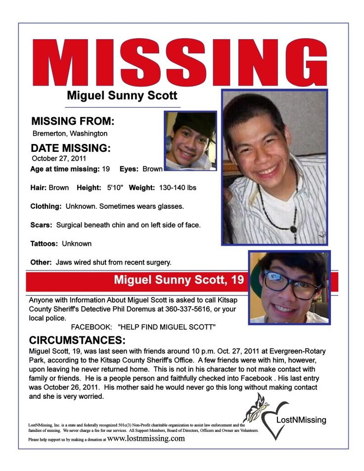 70 best missing persons images on Pinterest Missing persons - missing person flyer template