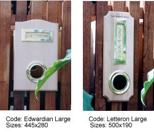 - Picket Fence Letterboxes