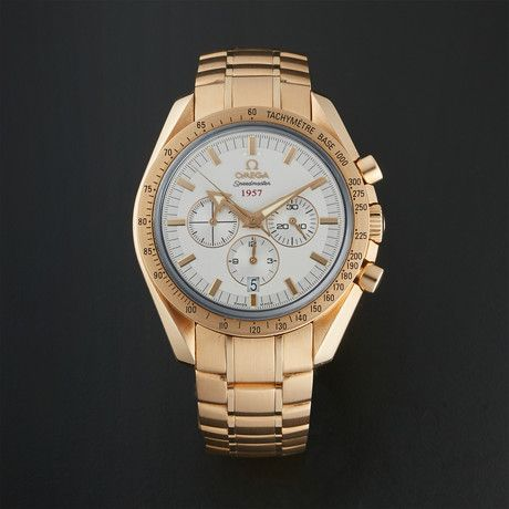 Omega Speedmaster Broad Arrow Chronograph Automatic // 321.50.42.50.02.001 // Pre-Owned