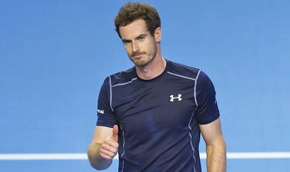 Andy Murray teaches a lesson as new dad dominates opening stage of Davis Cup