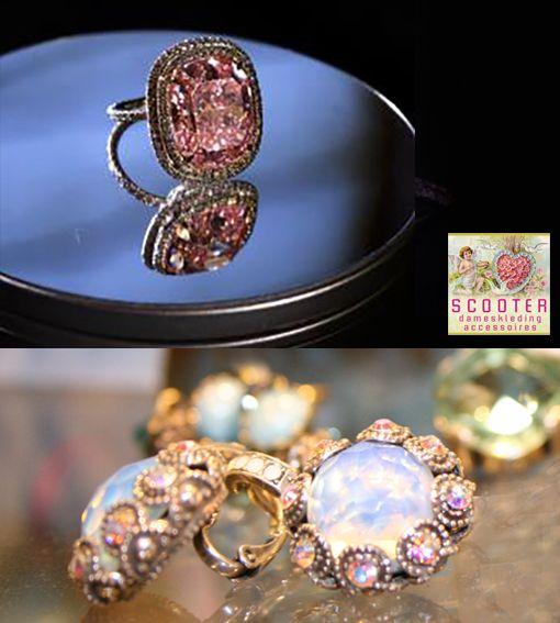 FIJNE WEEK  16 - 22 november 2015  26 miljoen voor een roze diamanten ring! Wij hebben er altijd wel mooie oorbellen bij.  Scooter Enschede