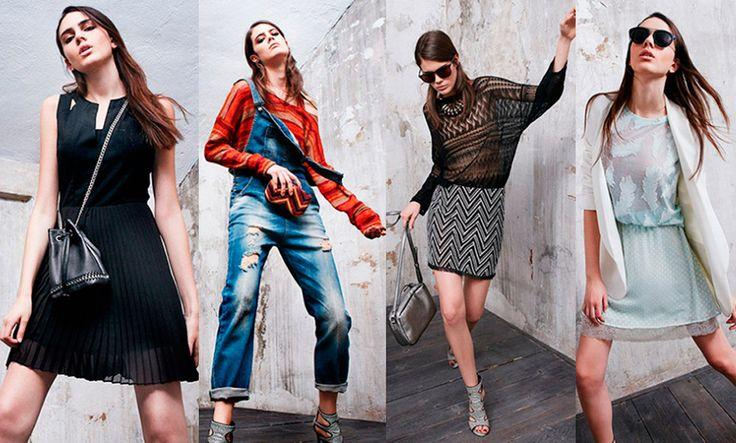 Sisley abbigliamento primavera estate 2016: Foto e Prezzi - http://www.beautydea.it/sisley-abbigliamento-primavera-estate-2016-foto-prezzi/ - Righe orizzontali e verticali, pizzo ricamato, stile moderno con accenni retrò nella nuova collezione abbigliamento Sisley per l'estate 2016!