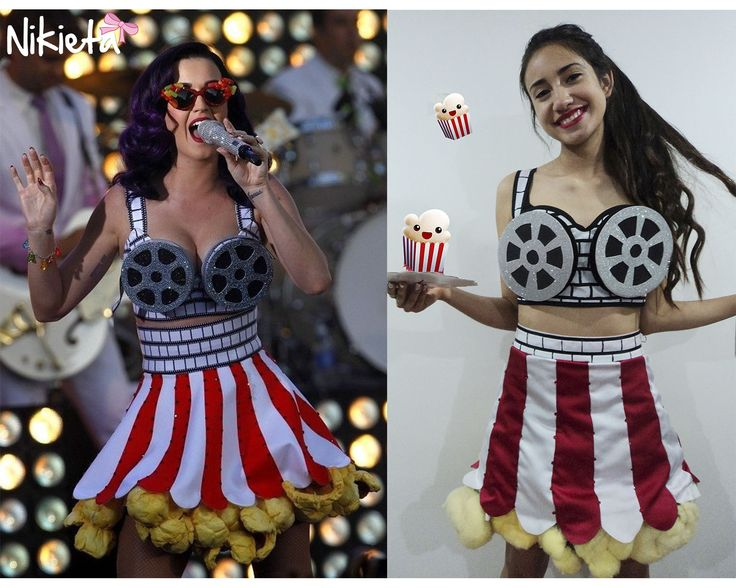 Katy Perry Popcorn/Movie costume!! Made to order by Nikieta.