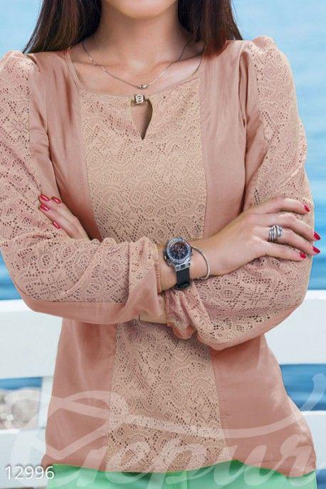 Этническая кремовая блузка Блуза в этническом стиле необычайно актуальна в новом | Женские пуловеры, джемперы