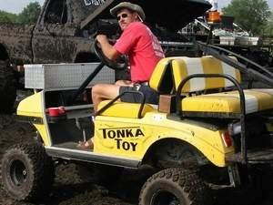 Tonka Toy Cart #golfcart #golf