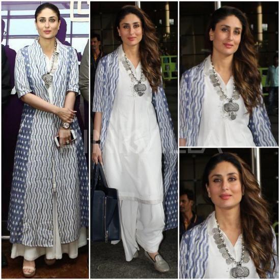 Celebrity Style,kareena kapoor,kareena kapoor khan,Grassroot,Grassroot by Anita Dongre,Ki and Ka: