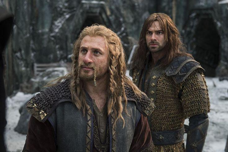 Le Hobbit : la Bataille des Cinq Armées : Photo Aidan Turner, Dean O'Gorman