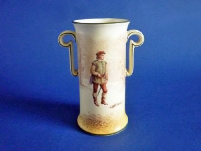 Royal Doulton Shakespearean Characters 'Orlando' Vase D3746 c1914
