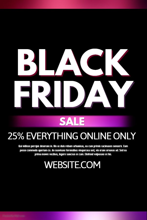 44 Best Black Friday Flyer Templates Images On Pinterest