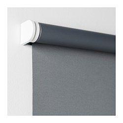 IKEA - TUPPLUR, Store à enrouleur occultant, 60x195 cm, , Le store est dépourvu de cordons pour augmenter la sécurité des enfants.Le store enrouleur occultant comporte un revêtement spécial qui ne laisse pas passer la lumière.Se monte à l'intérieur ou à l'extérieur du cadre d'une fenêtre, ou au plafond.Pour l'adapter aux dimensions de votre fenêtre, vous pouvez découper le côté droit du store à enrouleur (jusqu'à 20 cm).