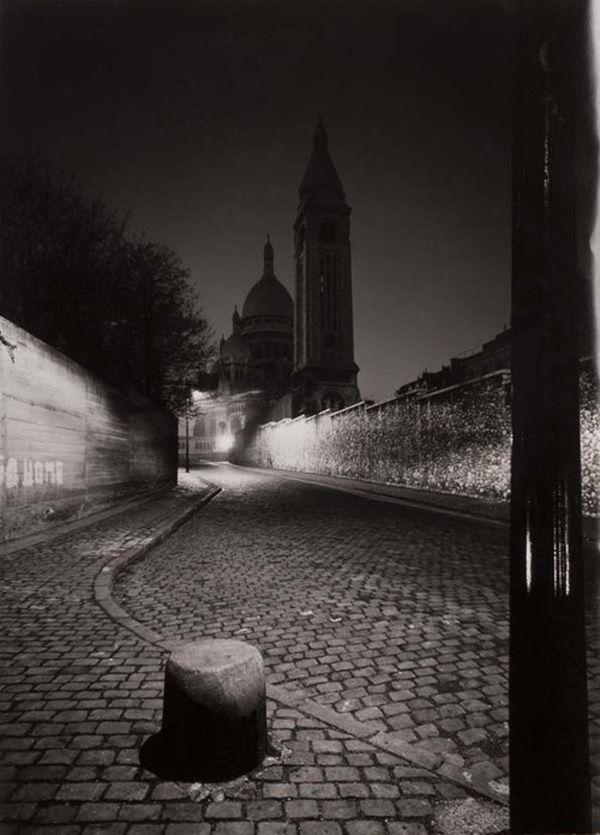 René Jacques. rue de la Bonne Paris 1950 Montmartre