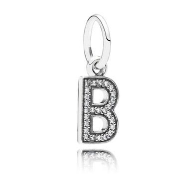 Pandora Letter B Pendant Charm
