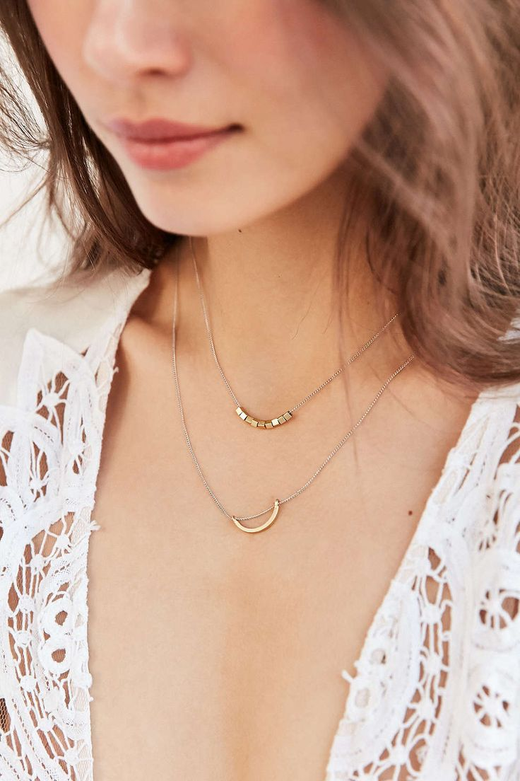 Evening Sun Layering Necklace Set - Urban Outfitters