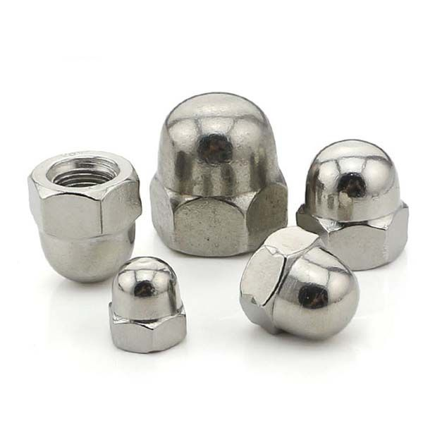 Acorn Nuts Also Known As Cap Nuts Feature A Domed Fastener Head Which Protects Screws And Bolts From Stripping Al Decorative Cover Hardware Screws And Bolts
