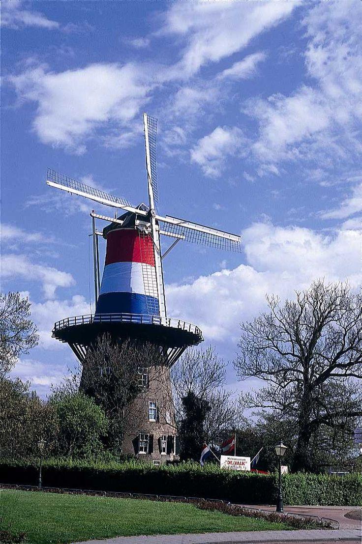 Leiden windmill de Valk