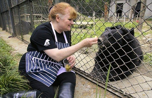 Downton Abbey cook Lesley Nicol (Mrs. Patmore) went to China to save bears from a fate worse than death. Please also visit www.animalsasia.org.