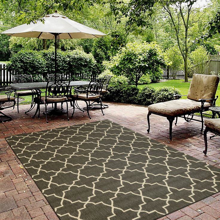 Rugs USA Porch Outdoor Trellis SK02 Dark Forest Rug. Rugs USA Summer Sale  Up To